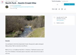 North Fork - Asotin Creek Hike @ Swallows Park | Clarkston | Washington | United States